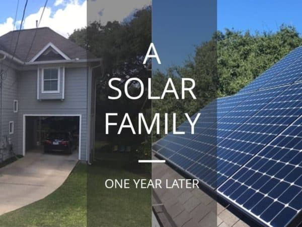Austin Engineer Looks Back on First Year with Solar