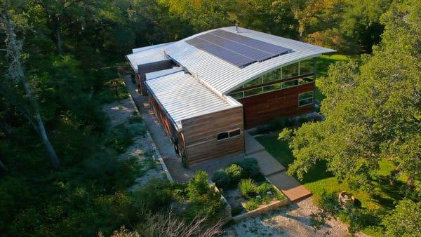 Solar Panels House Austin